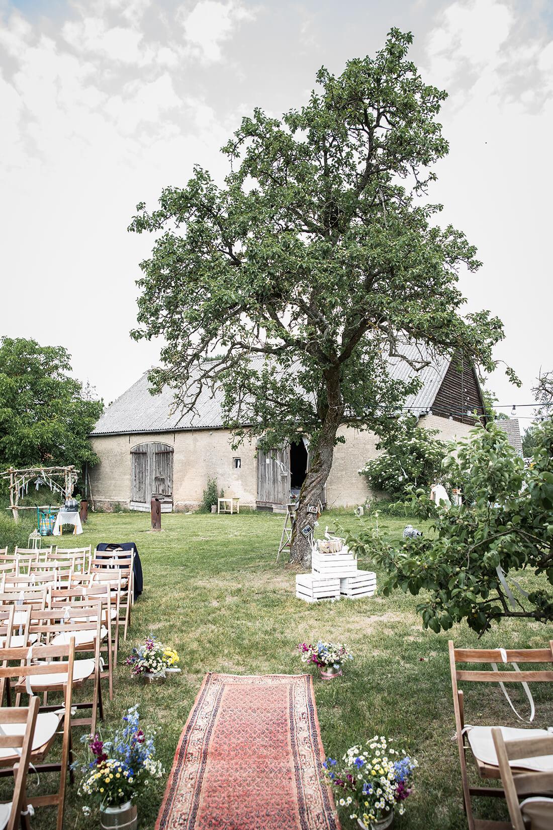 Bohemian Hochzeitslocation Schmetterlingsgarten © Miriam Ellerbrake 2018