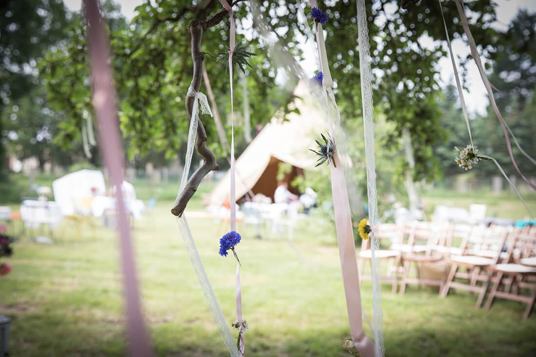 Deko Hochzeitslocation Schmetterlingsgarten © Miriam Ellerbrake 2018